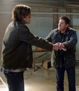 Dean shows Sam how to determine what's real and what's not.