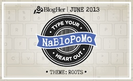 National Blog Posting Month at BlogHer