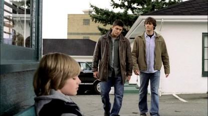 Dean and Sam walk towards Michael, who couldn't protect his little brother.