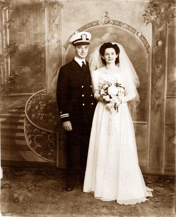 My parents were married during World War ii.