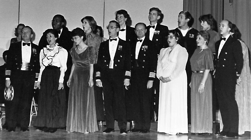 Tje Nautical Notes was an offshoot of the Newport Navy Choristers.