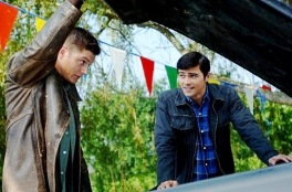 Dean shows young John Winchester the value of an Impala.