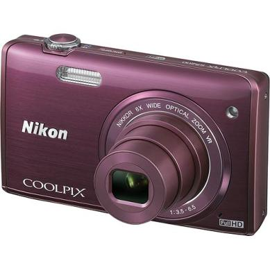 Only the purple choice in the Nikon S5200 was available at the store.