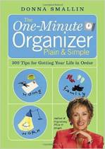 One-Minute Organizer set of books is written by Donna Smallin.