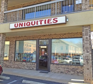 Uniquities yarn shop is going out of business.
