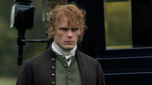 Sam Heughan's hair is hideous in this episode of Outlander