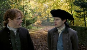 Lord John Grey agrees to look after Jamie's son.