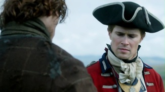 Lord John falls for Jamie's story.