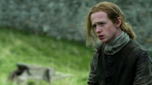 John Bell plays Young Ian Murray in Outlander.