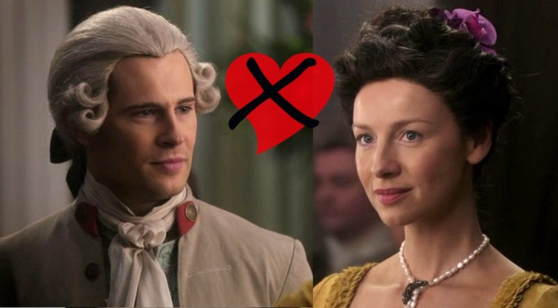 Lord John Grey and Claire Fraser meet.